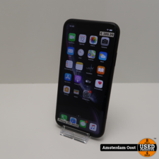 apple iPhone XR 64GB Black ( klein blusje ) | in Gebruikte Staat
