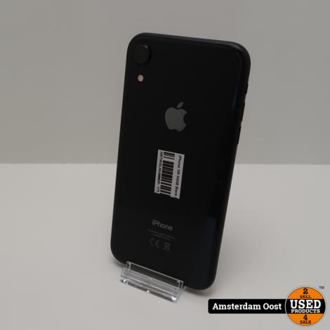iPhone XR 64GB Black ( klein blusje ) | in Gebruikte Staat