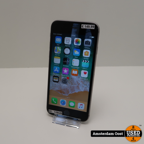 iPhone 6S 128GB Space Gray | in Prima Staat