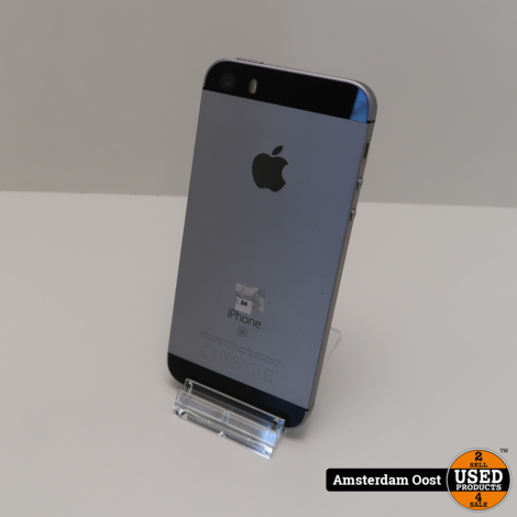 iPhone SE 16GB Space Gray   in Prima Staat