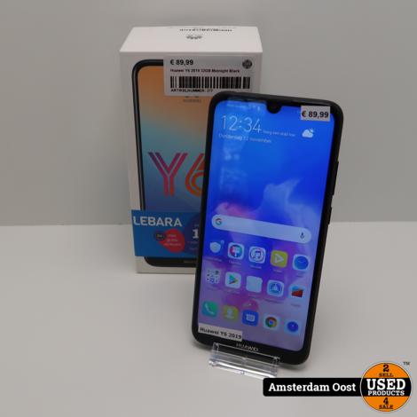 Huawei Y6 2019 32GB Midnight Black Dual-Sim