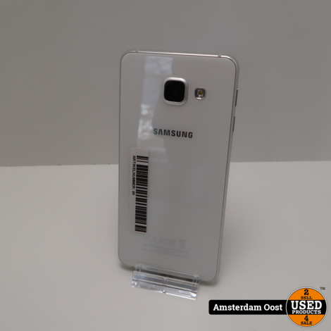Samsung Galaxy A3 2016 16GB White   in Nette Staat