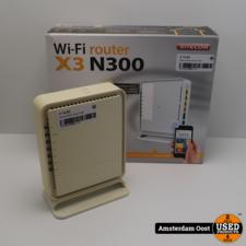 Sitecom X3 N300 Wifi Router | in Gebruikte Staat
