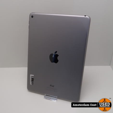 iPad Air 2 64GB Wifi Space Gray | in Nette Staat