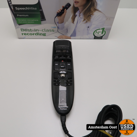 Philips SpeechMike Premium Dicteer Microfoon | in Nieuwstaat