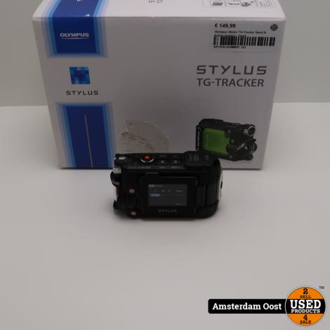 Olympus Tough Stylus TG-Tracker Sport & Action Camera - Zwart