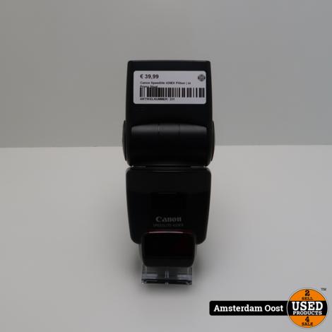 Canon Speedlite 420EX Flitser | in Prima Staat