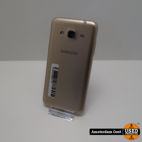 Samsung Galaxy J3 2016 8GB Gold | in Nette Staat