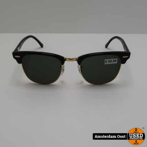 Ray-Ban Clubmaster Classic Zonnebril | in Nette Staat