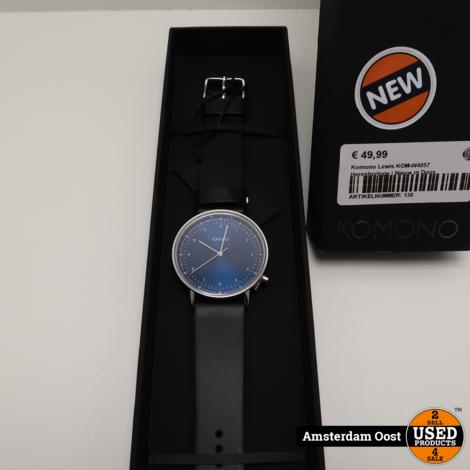 Komono Lewis KOM-W4057 Herenhorloge | Nieuw in Doos