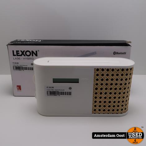 Lexon LA96 - Hyprid Bluetooth speaker | Nieuwstaat