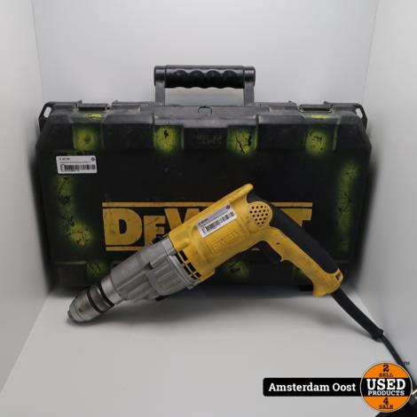 Dewalt D218155-QS Boormachine in koffer