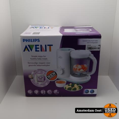 Philips Avent Baby Food Maker (Stomer-Blender)
