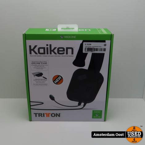 Triton Kaiken Gameheadset Xbox One | Nieuw in Seal