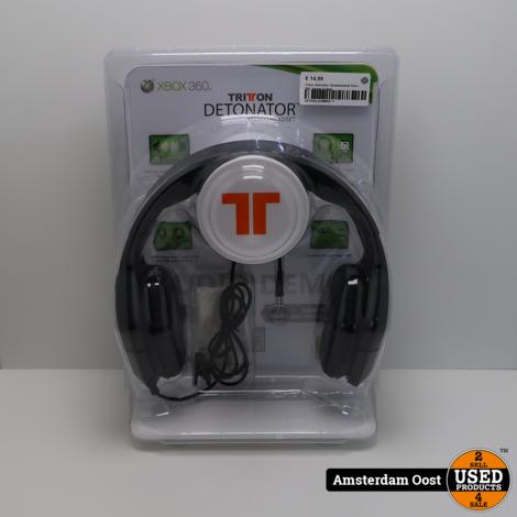 Triton Detonator Koptelefoon  Xbox 360 | Nieuw in Seal