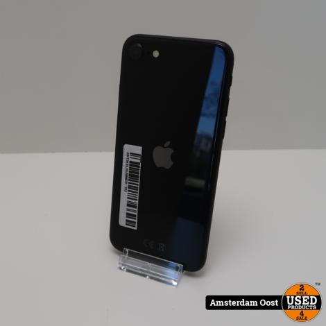 iPhone SE 2020 64GB Black | Nette staat incl Apple garantie