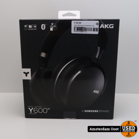 AKG Y600 Wireless Headphone met Noise Cancellation