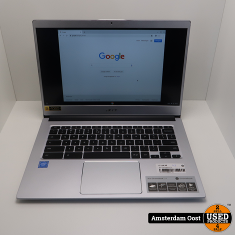 Acer Chromebook 514 Celeron/4GB/64GB SSD | in Prima Staat