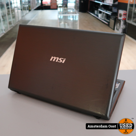 MSI CR61 i3/4GB/320GB HDD Laptop | in Redelijke Staat