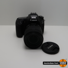 Canon EOS 80D 18-135mm 24.2MP Camera | in Nette Staat