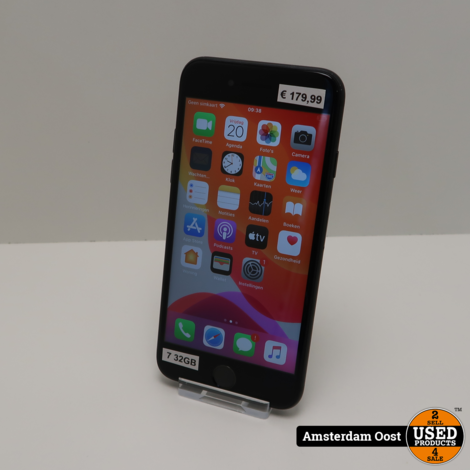 iPhone 7 32GB Black | in Prima Staat