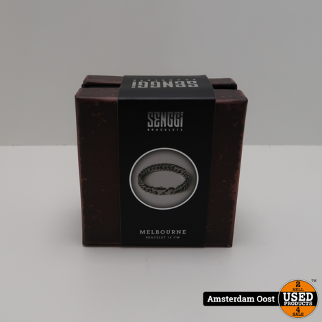 Senggi Bracelet Melbourne 18CM | Nieuw in Doos