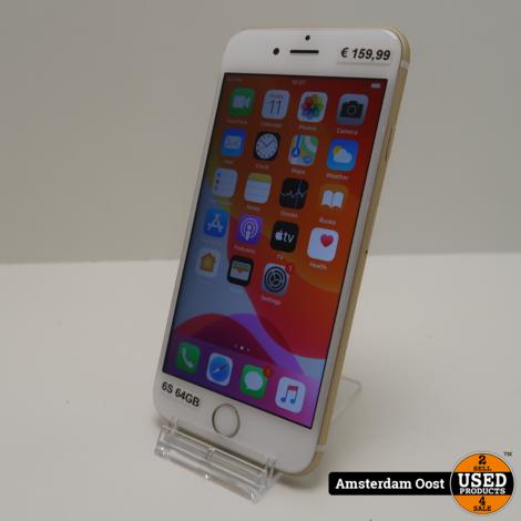 iPhone 6S 64GB Gold | In Redelijke Staat