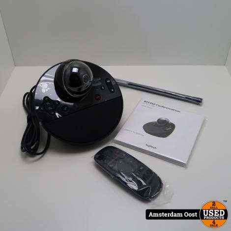 Logitech BCC950 Webcam- en Speakerphone   Nieuw in Doos