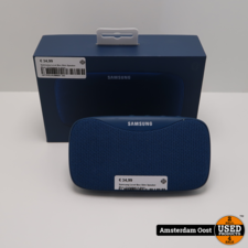 Samsung Level Box Slim Speaker Blue   Compleet in doos