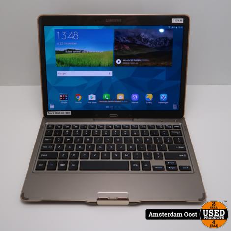 Samsung Galaxy Tab S 16GB 4G + Wifi | met Keyboard
