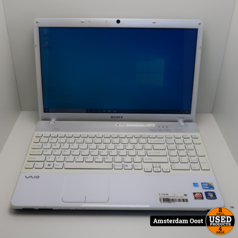 Sony Vaio i3/4GB/120GB SSD Laptop | in Prima Staat