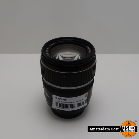 Canon EF-S 17-85mm 1:4-5.6 IS USM Lens | in Prima Staat