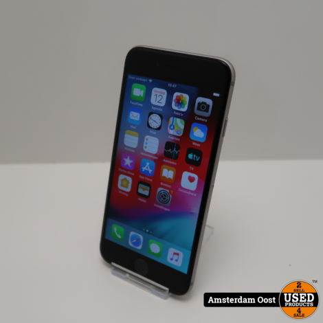iPhone 6 16GB Space Gray   in Nette Staat