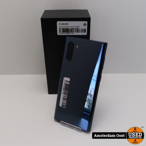 Samsung Galaxy Note 10 256GB Dual-Sim Black | in Nette Staat