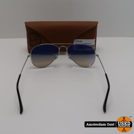 Ray-Ban Aviator RB3025-003/32 Zonnebril | in Nette Staat