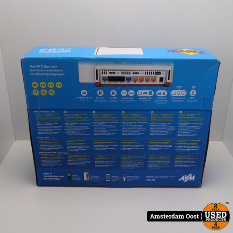 AVM FritzBox 7583 Router | Nieuw in Seal