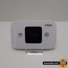 Huawei E5786 4G Mobile Wifi Router   in Redelijke Staat