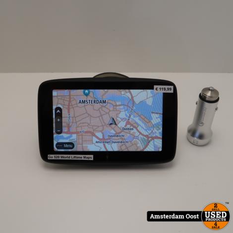 TomTom Go 520 5-inch World | in Nette Staat