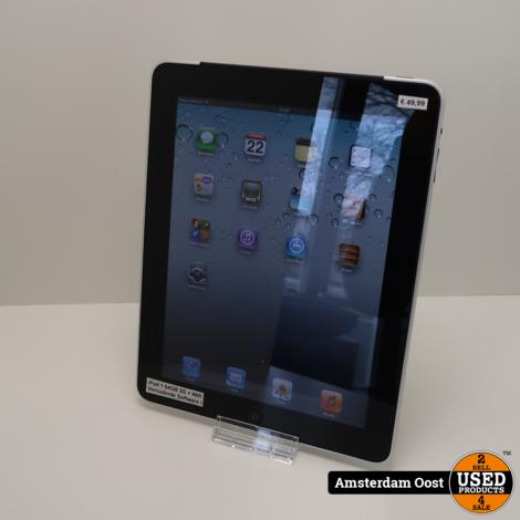 iPad 1 64GB 3G + Wifi Black | in Nette Staat