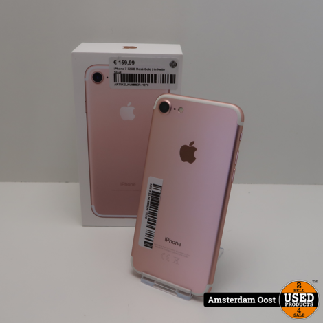 iPhone 7 32GB Rosé Gold | in Nette Staat