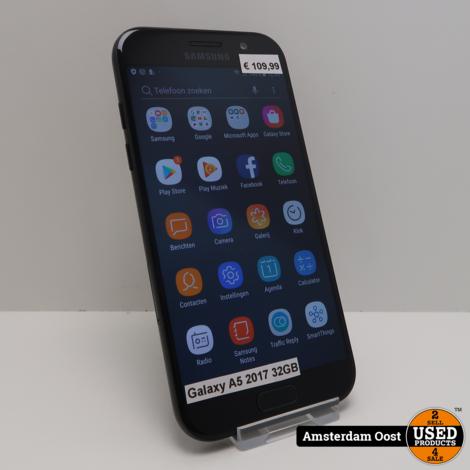 Samsung Galaxy A5 2017 32GB Black | in Redelijke Staat