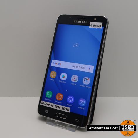 Samsung Galaxy J5 2016 16GB Black | in Nette Staat
