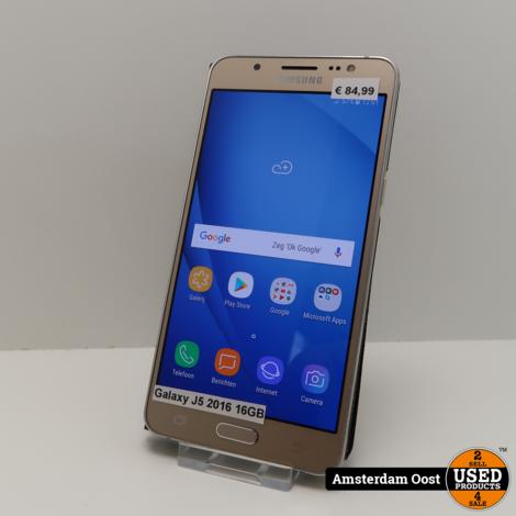 Samsung Galaxy J5 2016 16GB Gold | in Nette Staat