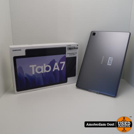 Samsung Galaxy Tab A7 64GB Cellular Dark Gray   Nieuwstaat
