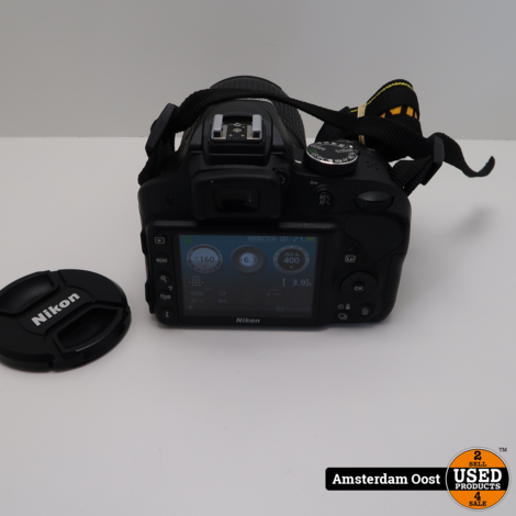 Nikon D3300 18-105mm Camera   in Nette Staat