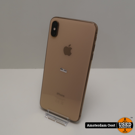 iPhone XS Max 64GB Gold | Nette staat