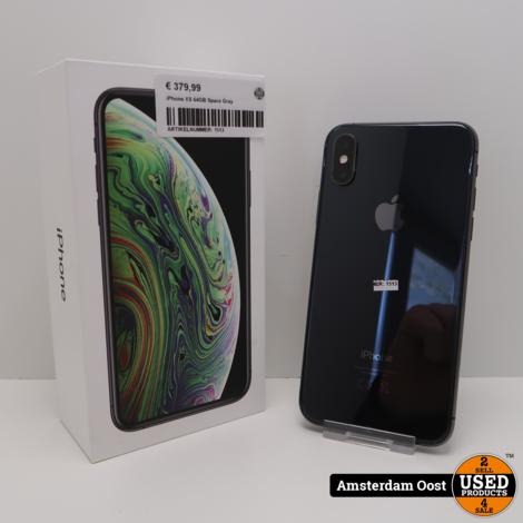 iPhone XS 64GB Space Gray | In Redelijke Staat