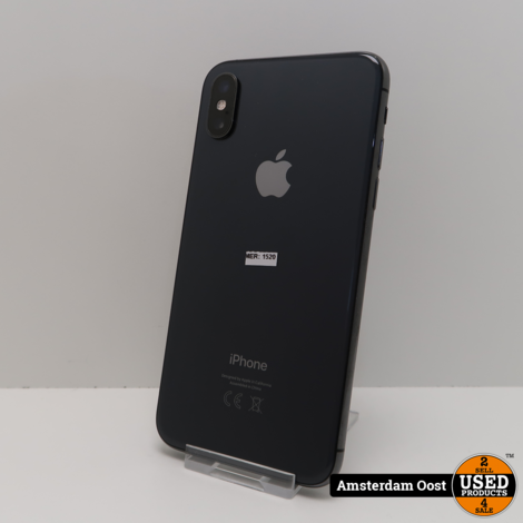 iPhone XS 256GB Space Gray | in Prima Staat