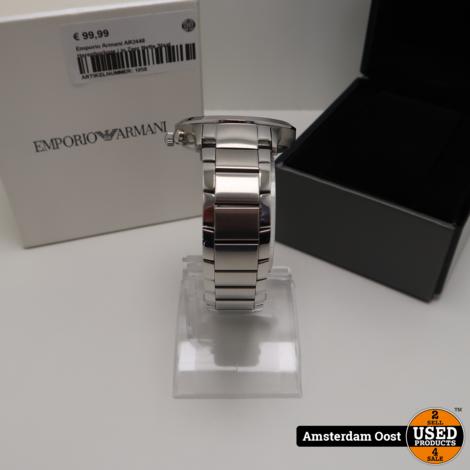 Emporio Armani AR2448 Herenhorloge | in Zeer Nette Staat