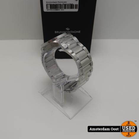 Brunmontagne Reprensator Staal/Groen Horloge | Nieuw in Doos